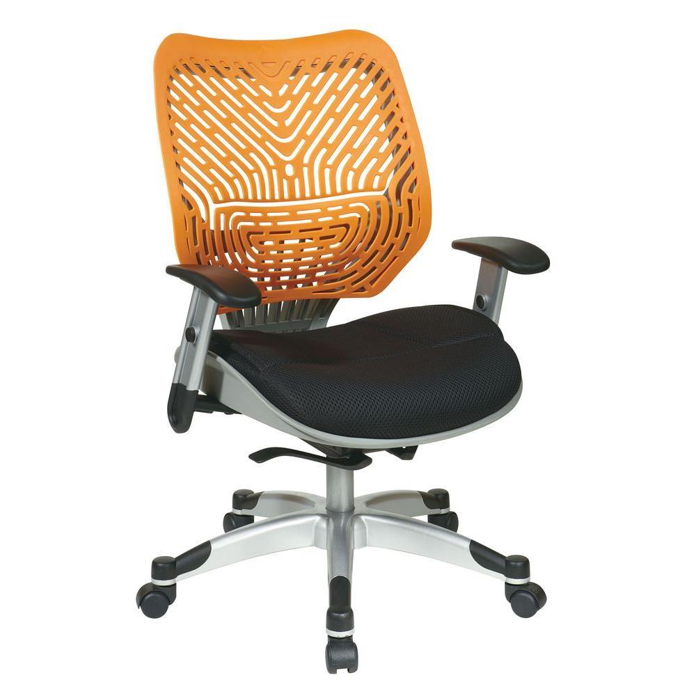 Revv Orange SpaceFlex Self Adjusting Manager Office Chair