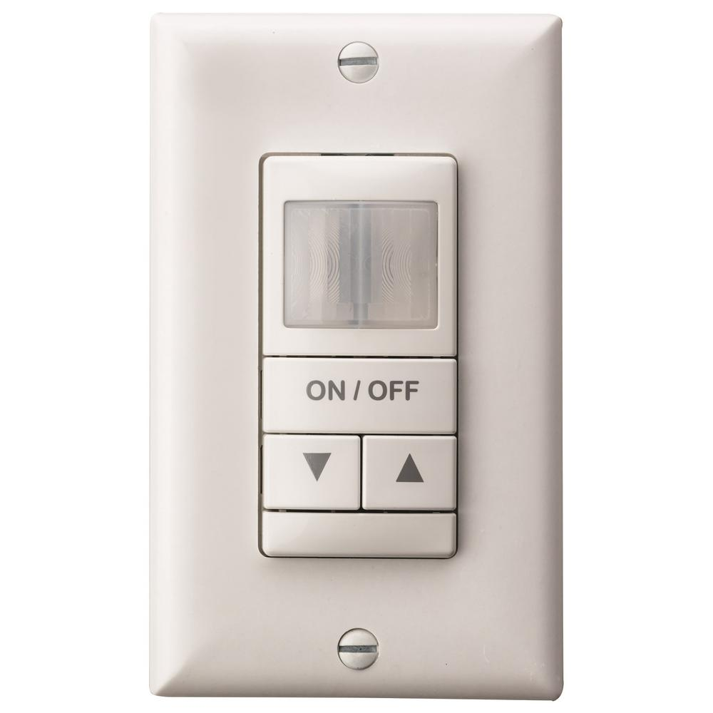 Lutron Maestro 5 Amp Motion Sensor Switch Single Pole Or Multi Three Way Home Depot Dual Detection Wall Occupancy With Dimming White