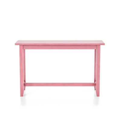 Rockland Antique Pink Counter Height Table