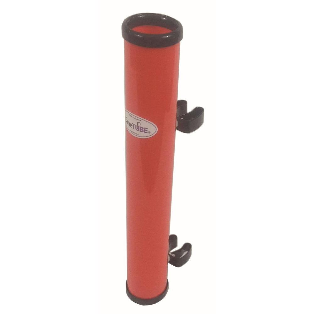 CaneTUBE Cane Holder in Red