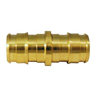 1/2 in. Brass PEX-A Expansion Barb Coupling (10-Pack)