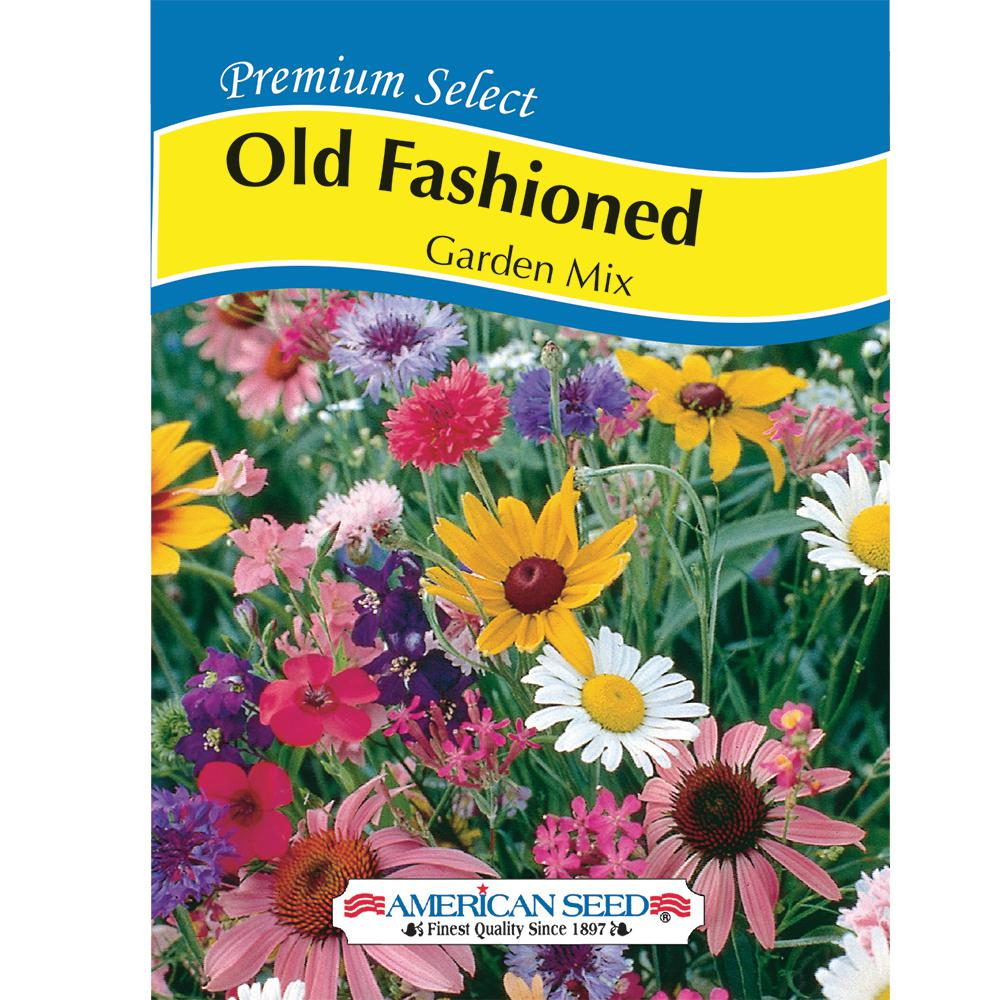 American Seed Old Fashioned Garden Mix AM Seed
