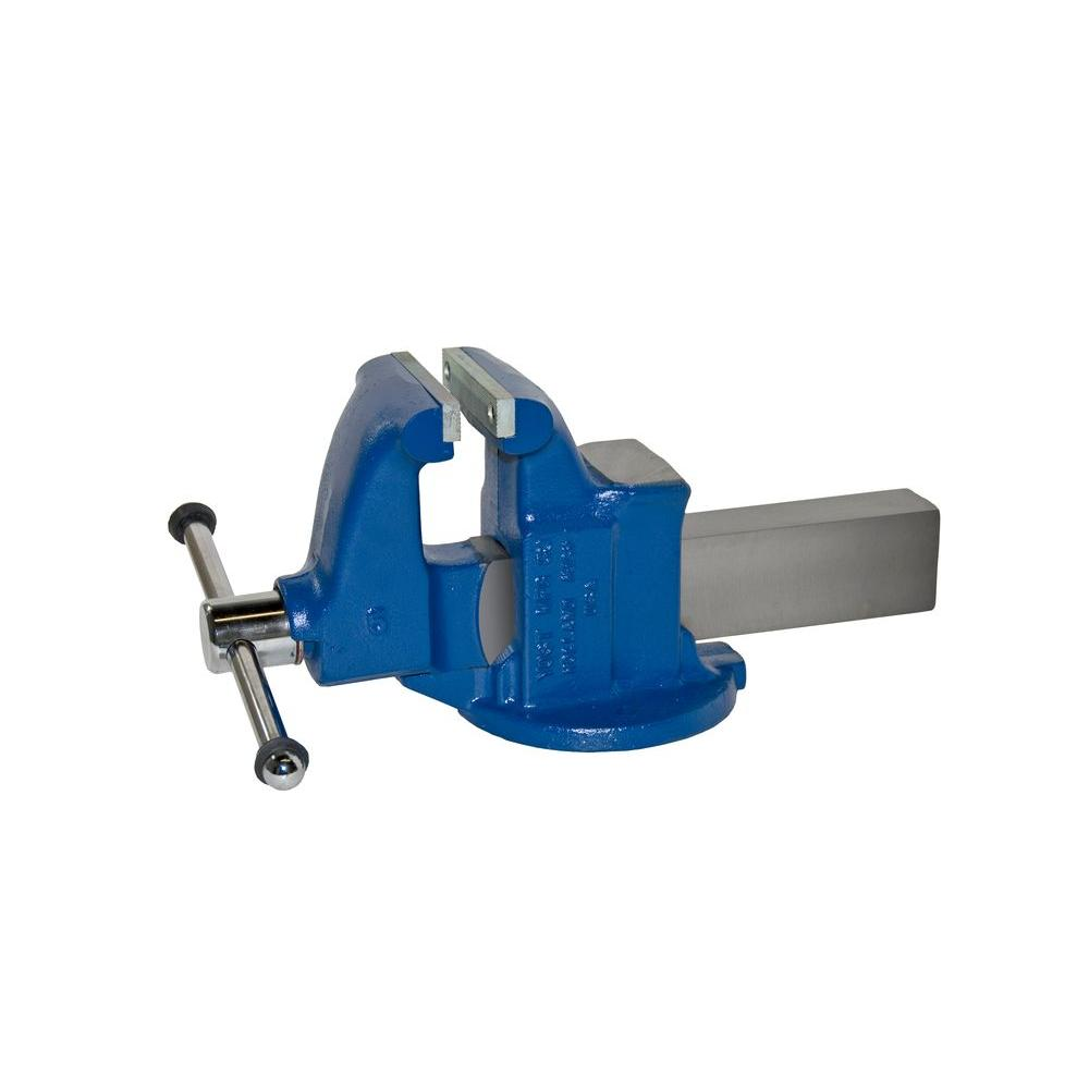 Yost 5 in. Heavy-Duty Machinists Vises - Stationary Base