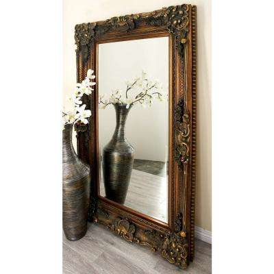Flourish And Scroll Framed Wall Mirror
