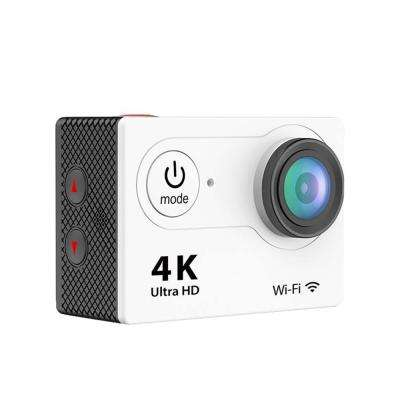 4K Waterproof 12 Mega Pixel Ultra HD Action Camera with Wi-Fi in White