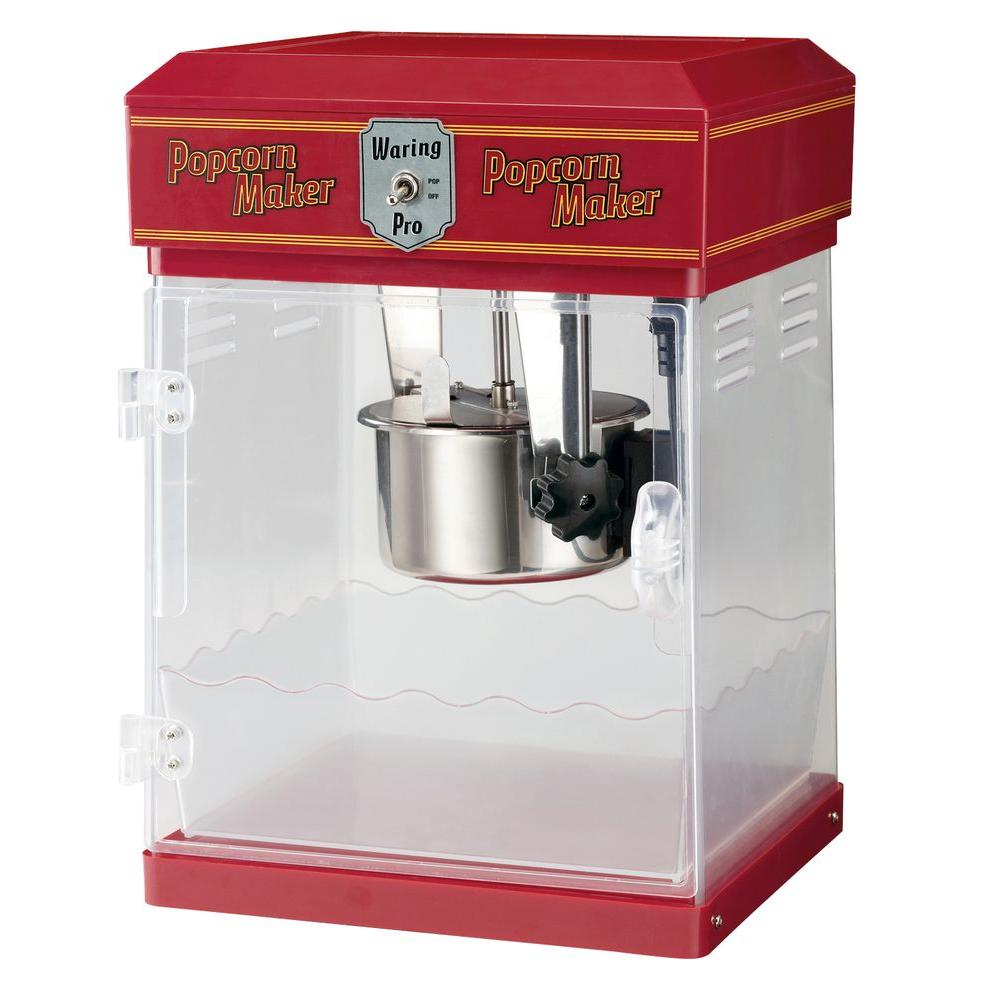Waring Pro Popcorn Maker Chili Red-DISCONTINUED
