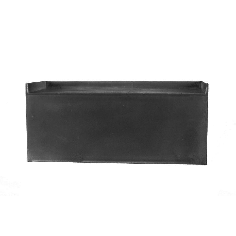 Redi Bench 33 in. W x 12 in. D x 13.3 in. H Shower Seat in Black