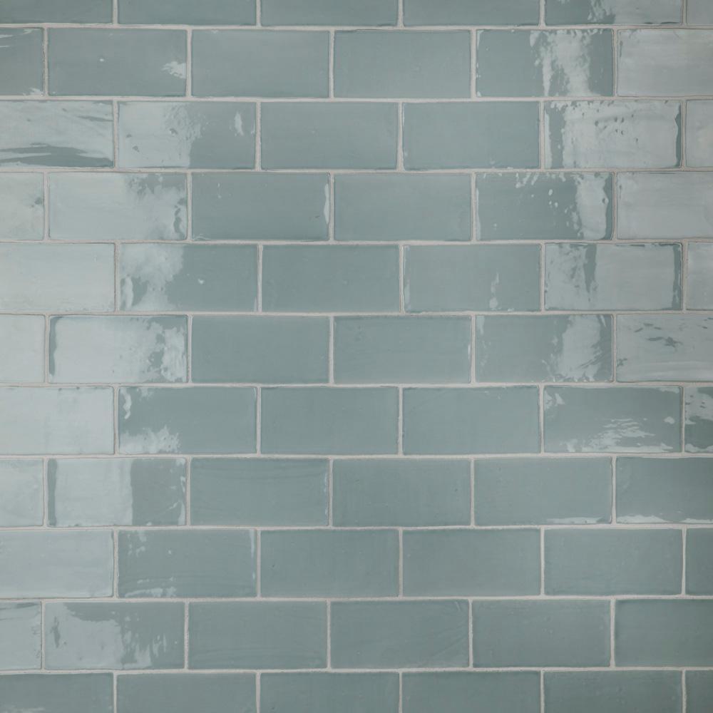 Chester Acqua 3 in. x 6 in. Ceramic Wall Subway Tile (6.02 sq. ft. / Case)
