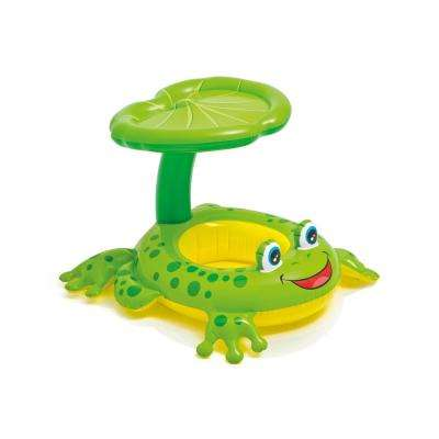 Froggy Friend Shade Canopy Baby Pool Float (6-Pack)
