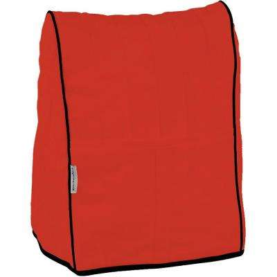 Cloth Cover in Empire Red with Black Piping for Stand Mixer