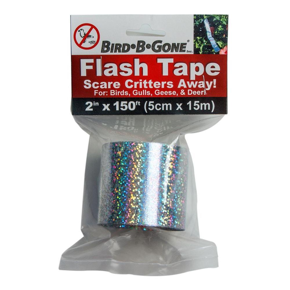 Holographic Flash Tape Bird Deterrent - 150 ft  x 2 in