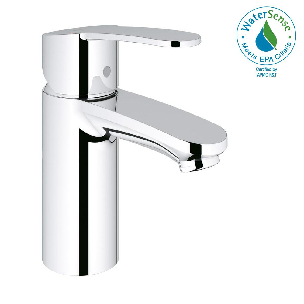 GROHE Eurostyle Cosmopolitan Single Hole Single-Handle Bathroom ...