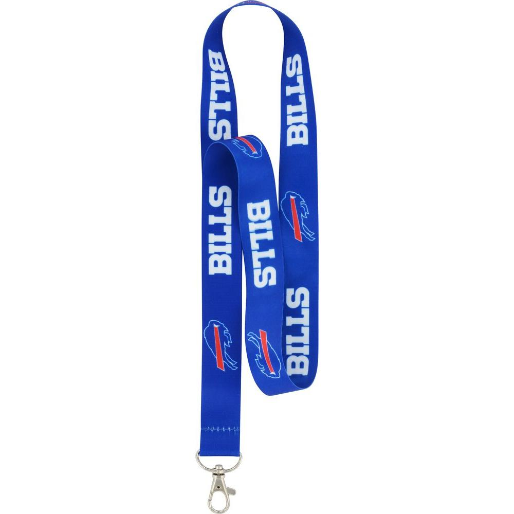 The Hillman Group NFL Buffalo Bills Lanyard (6-Pack), Adult Unisex, Red/Blue Show your team spirit with an officially licensed team neck lanyard. Use to carry your keys, MP3 player, cell phone and more. This item is sold individually. Color: Red/Blue. Gender: Unisex. Age Group: Adult.