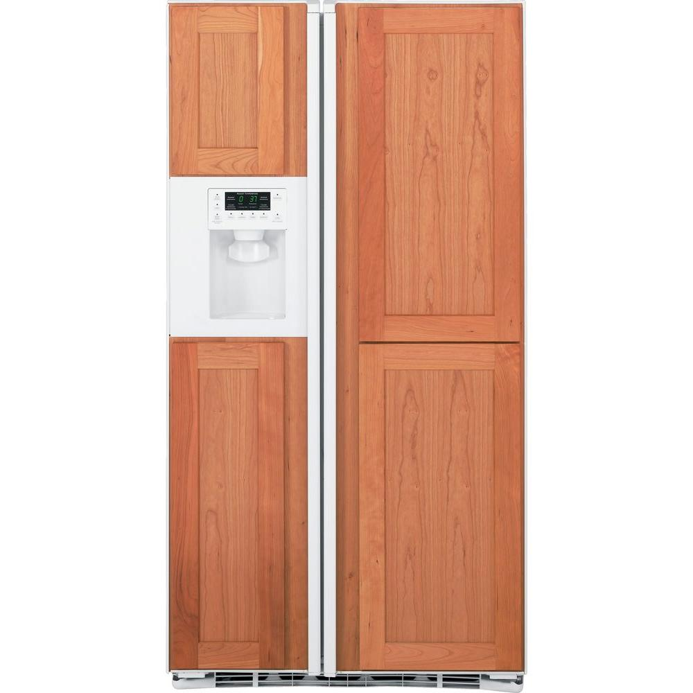 GE Profile 23.4 cu. ft. Side by Side Refrigerator in White, Counter Depth