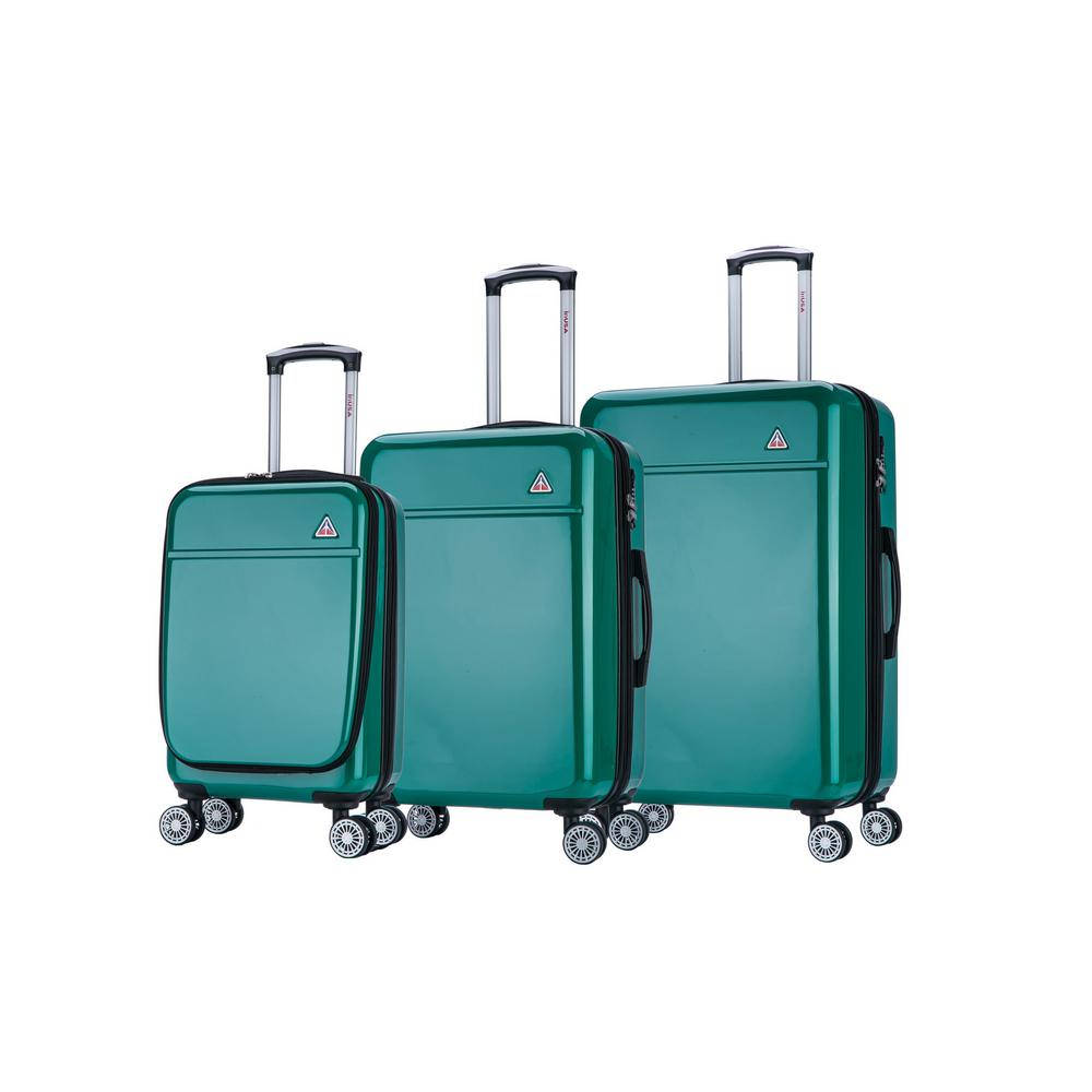 Avila lightweight hardside spinner 3 piece luggage set 20'',24'',