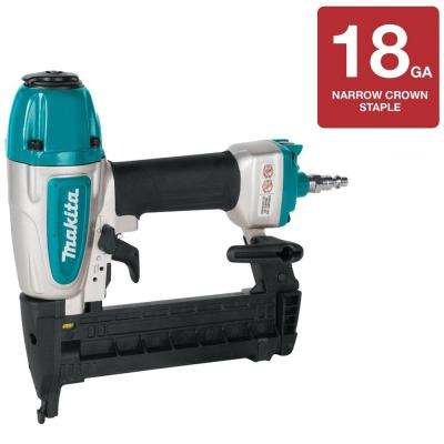 Pneumatic 18-Gauge, 1/4 in. Narrow Crown Stapler