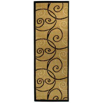 Ephes Collection Ivory 1 ft. 10 in. x 6 ft. 10 in. Runner