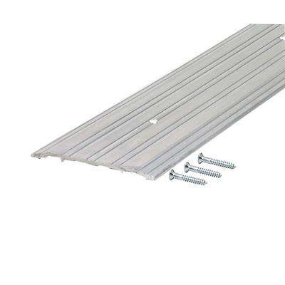 TH042 1/4 in. x 5 in. x 72 in. Mill Fluted Saddle Threshold