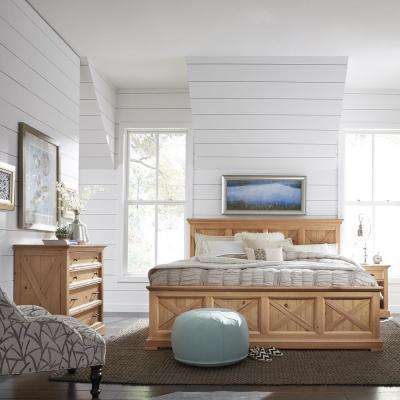 Country Lodge 3-Piece Pine King Bedroom Set
