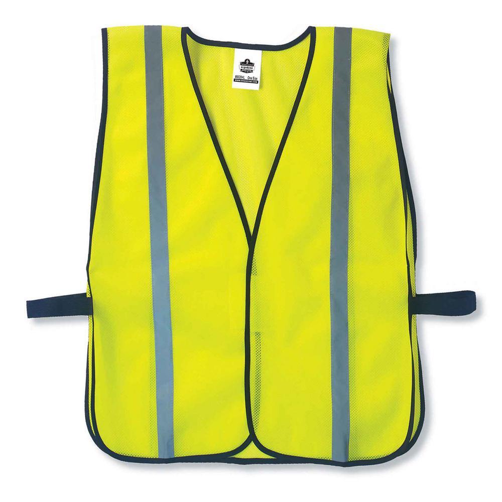 GLoWEAR Lime Hi-Vis Non-Certified Standard Vest