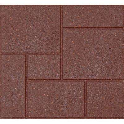Cobblestone 18 in. x 18 in. Terra Cotta Paver (70-Pack)