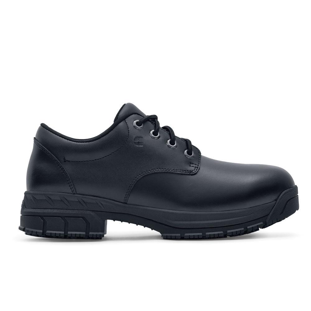 Shoes For Crews Cade ST Men's Size 12 Black Leather Slip-Resistant Steel Toe Work Shoe