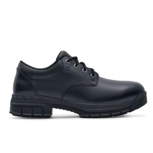 977fa42d29b Shoes For Crews Cade ST Men s Size 10 Black Leather Slip-Resistant Steel  Toe Work Shoe