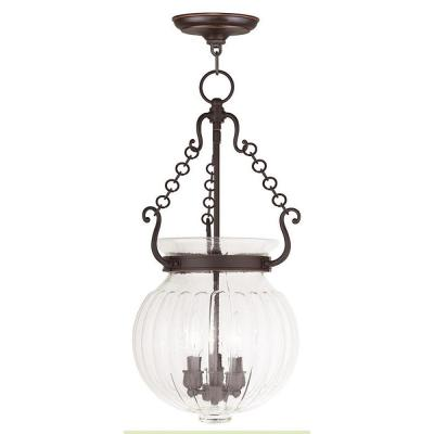 Everett 3-Light Olde Bronze Pendant