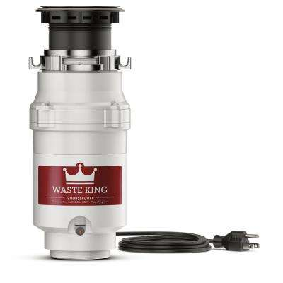 Legend Series 1/3 HP Continuous Feed Garbage Disposal