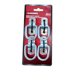 2-Pack Husky Fold Down Anchor Point