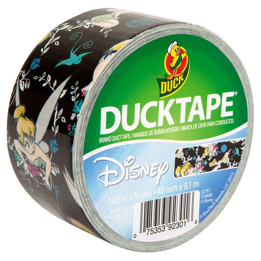 Duck 1.88 in. x 10 yds. Tinkerbell Duct Tape