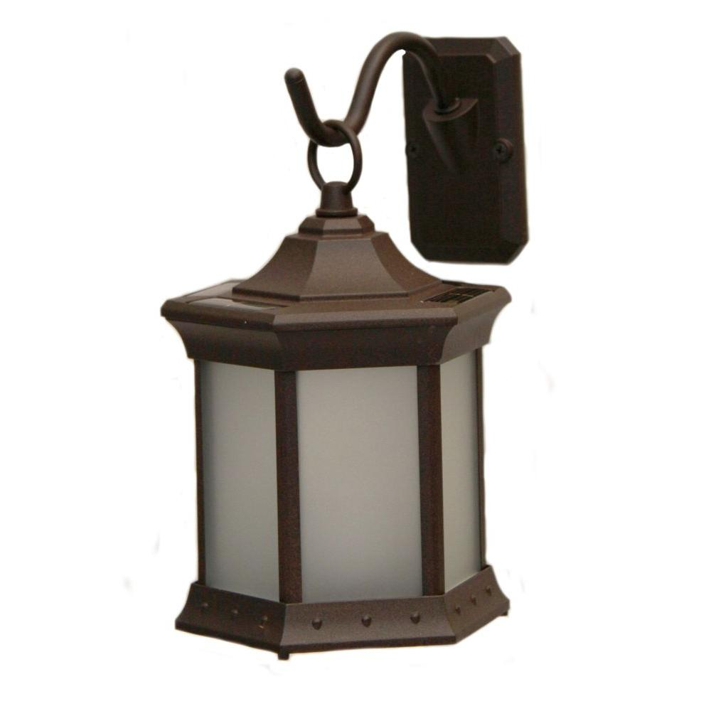 Internet 202583641 Sconce Hook Frosted Gl Solar Lantern