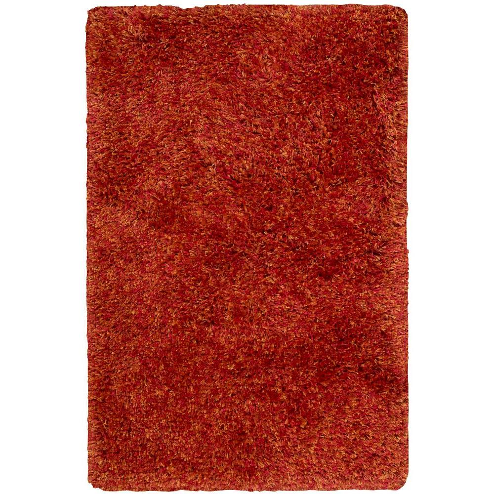 Nourison Overstock Style Bright Flame 5 ft. x 7 ft. Area Rug