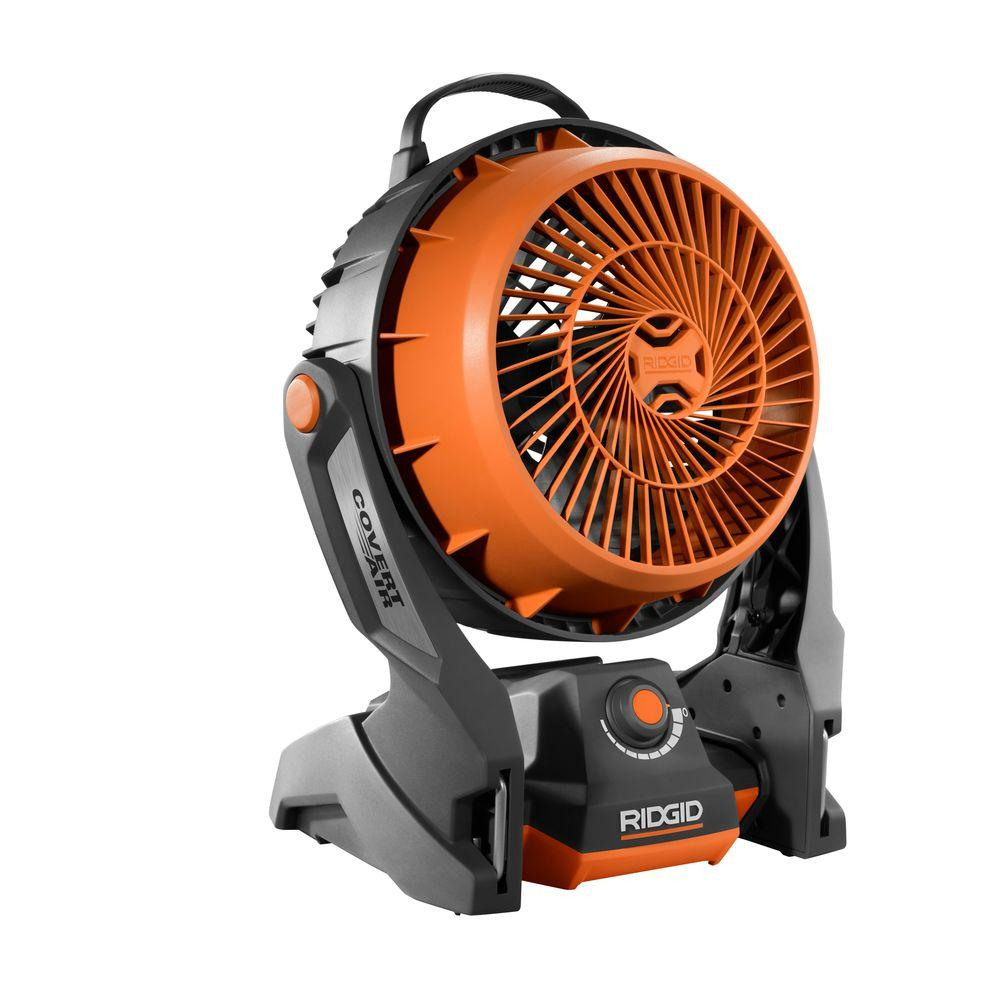 Ridgid 18 Volt Gen5x Hybrid Fan Tool Only R860720b The