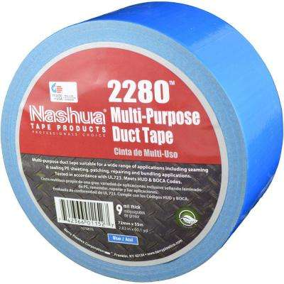 2.83 in. x 60.1 yds. 2280 Multi-Purpose Duct Tape in Blue