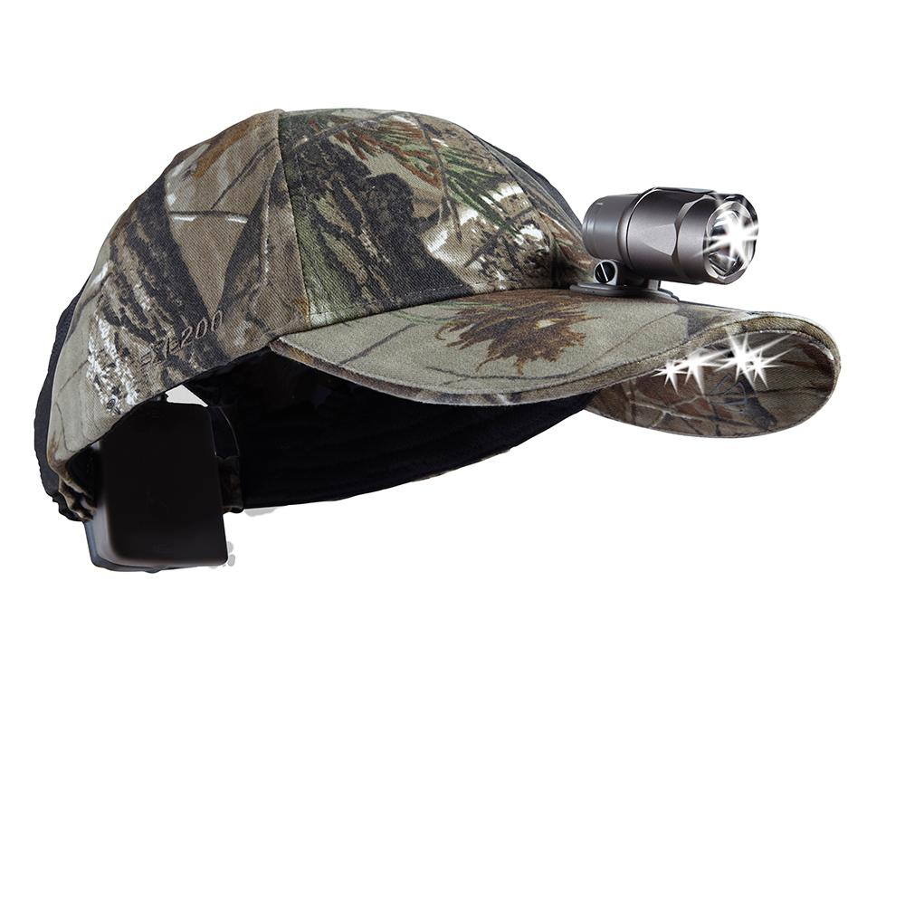 15a4c29105d5a Panther Vision POWERCAP LED Premium Headlamp Hat EXP 200 Ultra-Bright Hands  Free Lighted Battery