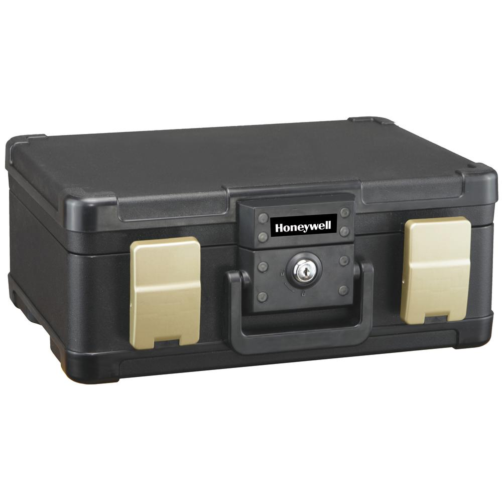 Honeywell 0.24 cu. ft. Molded Fire Resistant and Waterproof Portable Chest  with Carry Handle