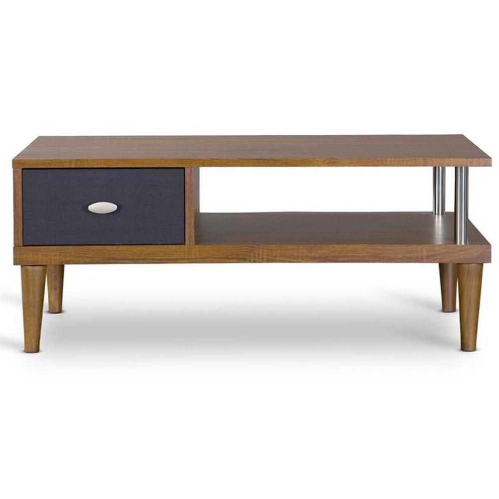 Eastman Medium Brown Wood Finishing TV Stand
