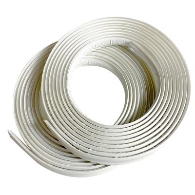 1/2 in. x 10 ft. White PVC Inside Corner Self-adhesive Flexible Trim Molding (2-Pack)