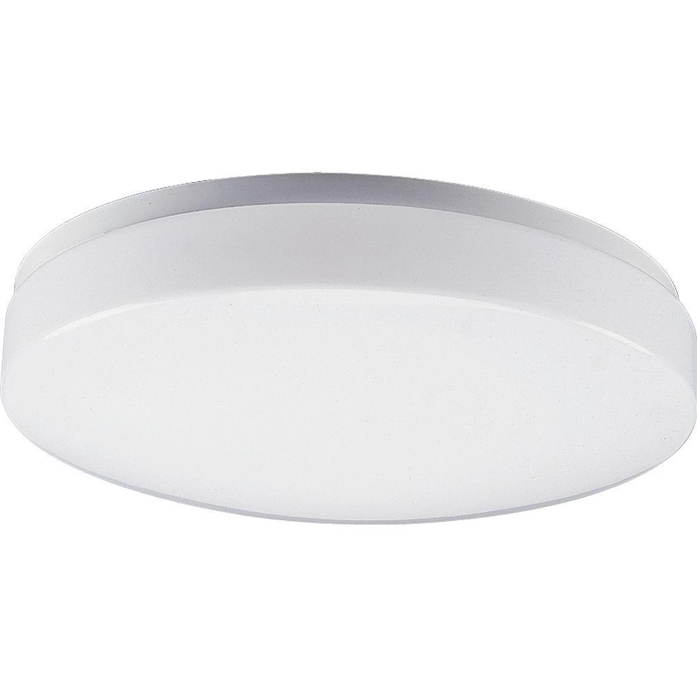 3-Light White Fluorescent Fixture
