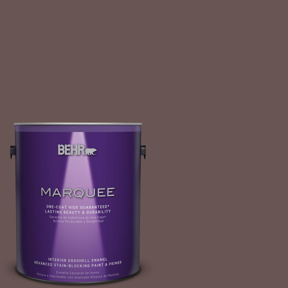 1 gal. #MQ1-42 Briar Wood One-Coat Hide Eggshell Enamel Interior Paint