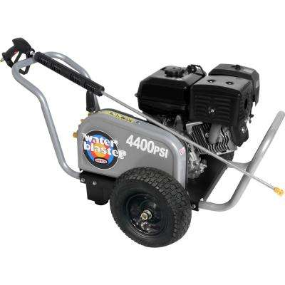 Water Blaster 4400 PSI at 4.0 GPM 420 with AAA Triplex Plunger Pump Belt Drive Gas Pressure Washer