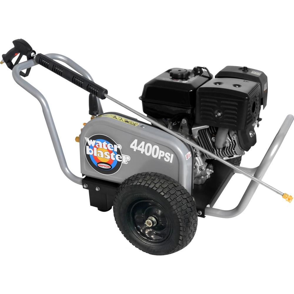 Simpson WaterBlaster 4400 psi at 4.0 GPM 420 with AAA Triplex Pump Professional Gas Pressure Washer