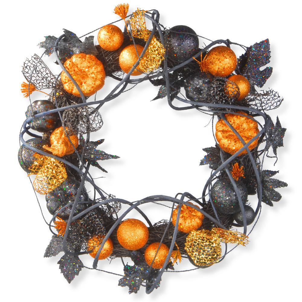 National Tree Company 20 In. Halloween Wreath-RAH-W060189