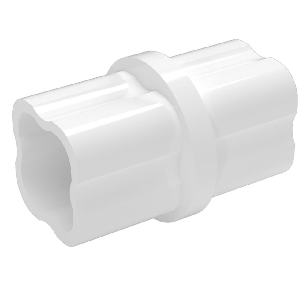 1 in. Furniture Grade PVC Sch. 40 Internal Coupling in White (10-Pack)