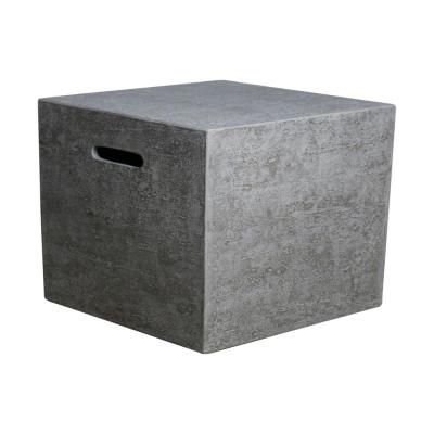 20 in. x 20 in. Concrete Square Propane Tank Cover