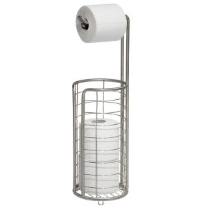 Forma Ultra Toilet Paper Holder in Brushed Stainless Steel by