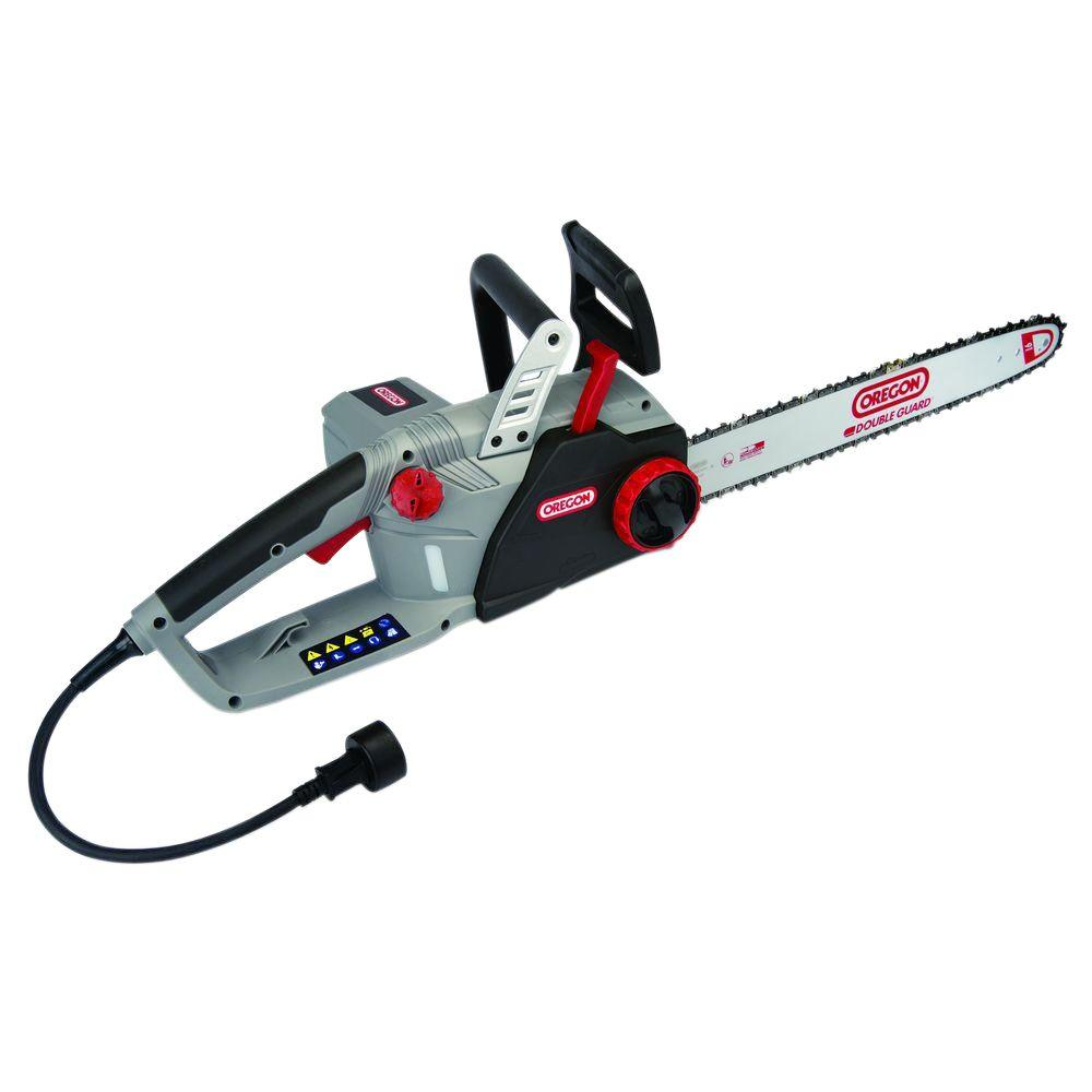 Oregon self sharpening cs1500 18 in 15 amp electric chainsaw 15 amp electric chainsaw greentooth