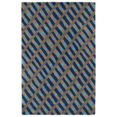 Synthesis Blue 5 ft. x 7 ft. 9 in. Area Rug