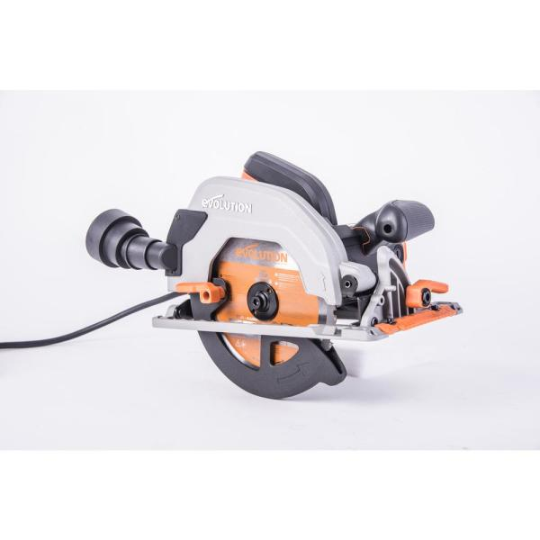 "Evolution Power Tools 7-1/4"" Multi-material Cutting Circular Saw, R185CCS"